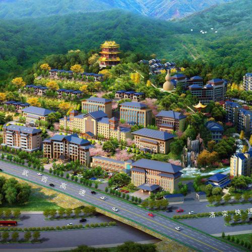 欒川葫蘆山旅游度假中心鳥晗圖